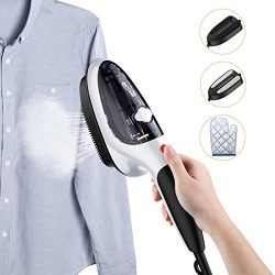 Housmile Garment Steamer Fast Heat-up Handheld Portable Fabric Steamer with Brush for Clothes, f ...