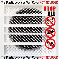 New Aroma Trees Dryer Vent Bird Stop – Dryer Vent Grill – Pest Guard – Stops B ...