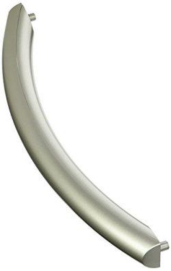 Silver Microwave Oven Door Handle for Samsung ME16K3000AS, SMH1611SE, SMH1713S DE94-02409C Micro ...