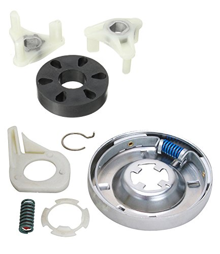 Siwdoy 285785 Washer Clutch Kit and 285753A Motor Coupling Kit for Whirlpool & Kenmore Washe ...