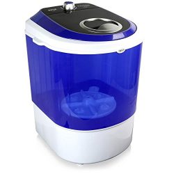 Pyle Upgraded Version Portable Washer – Top Loader Portable Laundry, Mini Washing Machine, ...