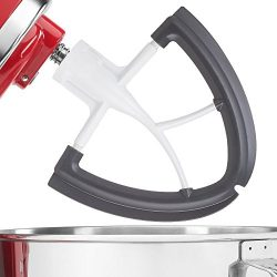 Gvode 4.5-5 Quart Flex Edge Beater for KitchenAid Tilt-Head Stand Mixer-Coated Metal Flat Beater ...