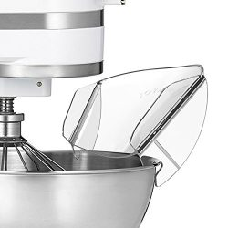 Pouring Shield, JOYMOOD Universal Pouring Chute for KitchenAid Bowl-Lift Stand Mixer Attachment/ ...