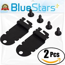 Ultra Durable 8212560 Dishwasher Side Mounting Bracket Replacement Kit by Blue Stars – Exact Fit ...