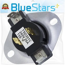 3387134 Cycling Thermostat Replacement Part by Blue Stars – Exact fit for Whirlpool Kenmor ...