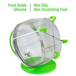 Instant Pot Accessories Insert 8 Quart vegetable Steamer Basket (3qt 6qt), Fits InstaPot Pressur ...