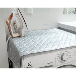 Wonder Worker Flat Magnetic Ironing Mat Heat Resistant Steaming Ironing Blanket, 33.5X19""