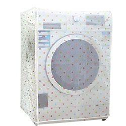 Jiyaru Washing Machine Cover Waterproof Washer Dust Guard Front Load Dryer Protector #2