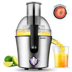 Juicer Extractor Fruit Vegetables Juice Maker Stainless Steel Three Speed Centrifugal Juicer 300 ...
