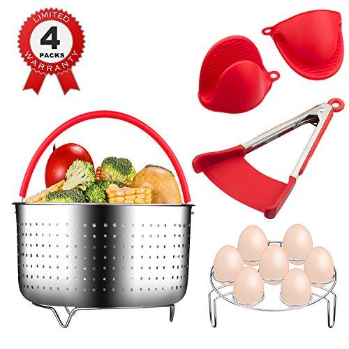 Instant Pot Accessories Steamer Basket For 6 Quart Instant Pot Pressure Cooker 100 Stainless