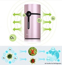 Activated Oxygen Refrigerator Deodorizer Filter. Mini Size Multi-purpose Sterilizing Deodorizer  ...