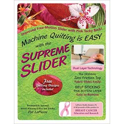 LaPierre Studio. LPSFMSS Free Motion Supreme Slider Quilting Notions (Limited Edition)