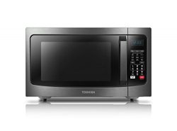 Toshiba EC042A5C-BS Microwave Oven with Convection Function Smart Sensor and LED Lighting, 1.5 C ...