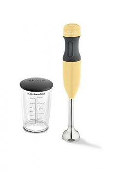 KitchenAid KHB1231MY 2-Speed Hand Blender, Majestic Yellow