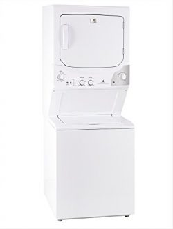 White-Westinghouse by Electrolux MKTG15GNAWB Laundry Center Stack Washer Dryer 220 Volts 50Hz Ex ...