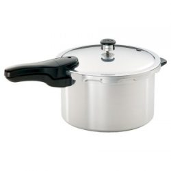 Strong, Heavy-Gauge Aluminum Pressure Cooker, 8-Quart Liquid Capacity