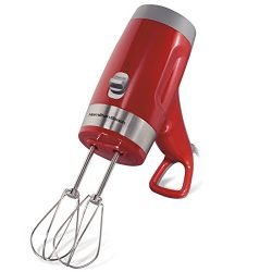 Hamilton Beach 62668 Electric Hand Mixer, Red