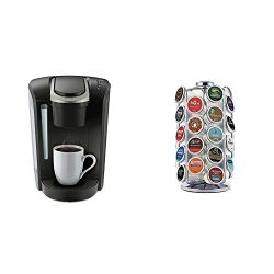 Keurig K-Select Coffee Maker, Black and K-Cup Pod Carousel Coffee Machine Accessory, 36 Count, C ...