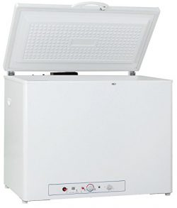 Smad Propane Freezer for Home 2-Way 110 volt Gas Freezer Chest Freezer, 7 Cu ft, White