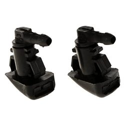 Baoblaze Pair Windshield Wiper Water Spray Jet Washer Nozzles for 2008-11 Ford Focus