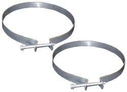 LASCO 10-1843 4-Inch Dryer Vent Clamps