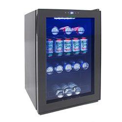 NutriChef AZPKTEBC70 70l Beverage and Wine Cooler Combination, Black