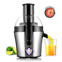 Fruit And Vegetable Juicer Juice Maker Stainless Steel Three Speed Centrifugal Juicer Extractor  ...