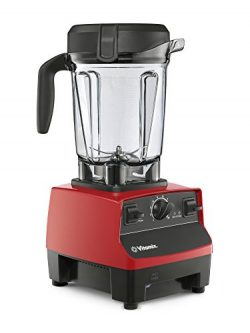 Vitamix 5300 Low-Profile Blender, Professional-Grade, Self-Cleaning 64 oz. Container, Red (Certi ...