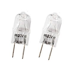 Wadoy WB36X10213 Microwave Light Bulbs G8 120V 20W Bulb Replacement for Halogen GE Oven Parts WB ...