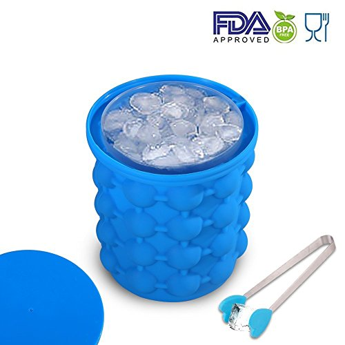 Wooce Ice Genie Cube Maker Dual-use Ice Cube Maker Revolutionary Save Space