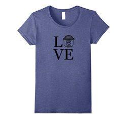 Womens Instant Pot Duo Love T-Shirt Medium Heather Blue