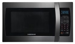 Farberware Black FMO13AHTBSE 1.3-Cubic-Foot 1100-Watt Microwave Oven with Smart Sensor Cooking,  ...