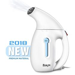 Balight Clothes Steamer, 180ml Handheld Garment Steamer Portable Fabric Steamer 60 Seconds Heat- ...