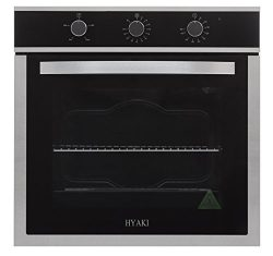 Hyaki 24″ Modern Style Stainless Steel Built in Electric Wall Oven 220V HYK-24WOX03