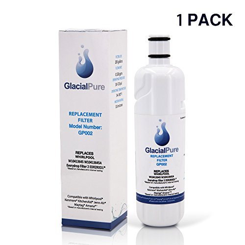 Glacial Pure Edr2rxdi Wi04i3645a Refrigerator Water Filter