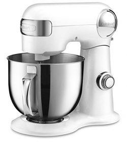 Cuisinart SM-50 5.5 – Quart Stand Mixer, White