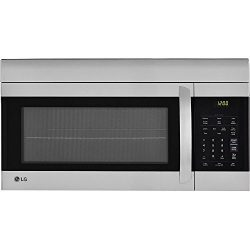LG LMV1762ST 1.7 Cu. Ft. 1000W Stainless Over-the-Range Microwave Oven