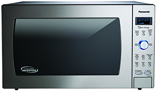 Panasonic NN-SD975S Countertop/Built-In Cyclonic Wave Microwave with Inverter Technology, 2.2 cu ...