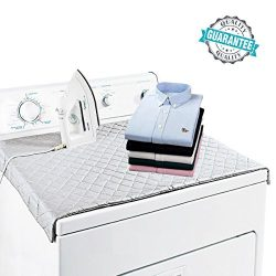 HOMILA Ironing Mat Portable Ironing Blanket Double Strength Magnetic Mat Laundry Pad, 33″  ...