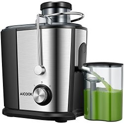 Juicer Centrifugal Juicer, Aicook Wide Mouth Juice Extractor Juicers for Whole Fruit and Vegetab ...