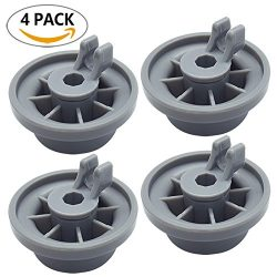 165314 4-Pack Dishwasher Lower Rack Wheel Replacement for Bosch and Kenmore Dishwasher – R ...