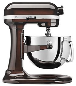 KitchenAid KP26M1XES 6 Qt. Professional 600 Series Bowl-Lift Stand Mixer – Espresso
