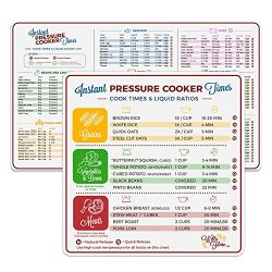 Instant Pot Electric Pressure Cooker Cook Times Quick Reference | Instapot Accessories Magnetic  ...