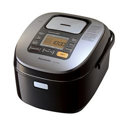 Panasonic SR-HZ106 5-Cup (Uncooked) Induction Heating System Rice Cooker & Multi-Cooker, Black