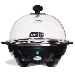Dash Rapid Egg Cooker: 6 Egg Capacity Electric Egg Cooker for Hard Boiled Eggs, Poached Eggs, Sc ...