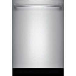 Bosch SHXM98W75N 24″ 800 Series Built In Fully Integrated Dishwasher with 6 Wash Cycles, i ...