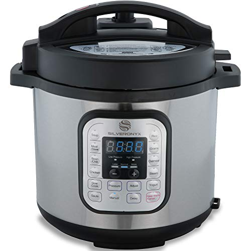 Silveronyx 6 Qt 10 In 1 Multi Use Electric Pressure