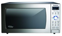 Panasonic NN-SD775S Countertop/Built-In Cyclonic Wave Microwave with Inverter Technology, 1.6 cu ...