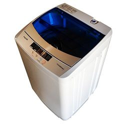 Panda Portable Compact Top Load Washer, 1.6cu.ft, PAN56MGW2, Wash, Rinse, Spin and Drain Fully A ...