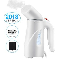 PICTEK Steamers Clothes, Fast Heat-up Handheld Garment Steamer, Compact Portable Wrinkle Remover ...